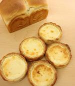 食パン&ベークドチーズパン(とかち野酵母)