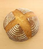 有機穀物で作った天然酵母(カンパーニュ)