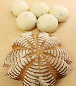 とかち野酵母(さくらのカンパーニュ・黒豆パン)