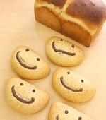 生クリーム食パン&スマイルクリームパン(とかち野酵母)