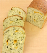 ほうれん草の食パン(湯種法)