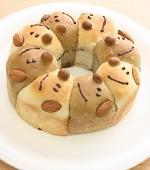 わんこのちぎりパン