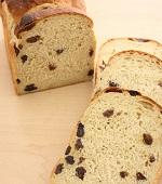 湯種黒糖ぶどうパン