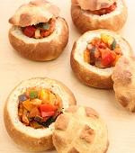ラタトゥイユのパン