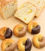 とかち野酵母『コーン食パン&焼きドーナツ』