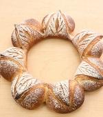 リースのパン