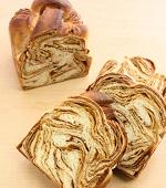 手づくりキャラメルシートの食パン