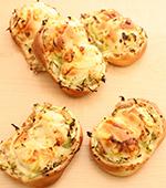 キャベツとツナのパン