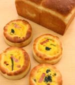 とかち野酵母(全粒粉食パン&パンキッシュ)