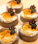 かぼちゃのカスタードパン(ハロウィンイベント)